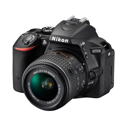 الصورة: Nikon D5500 DSLR - Black